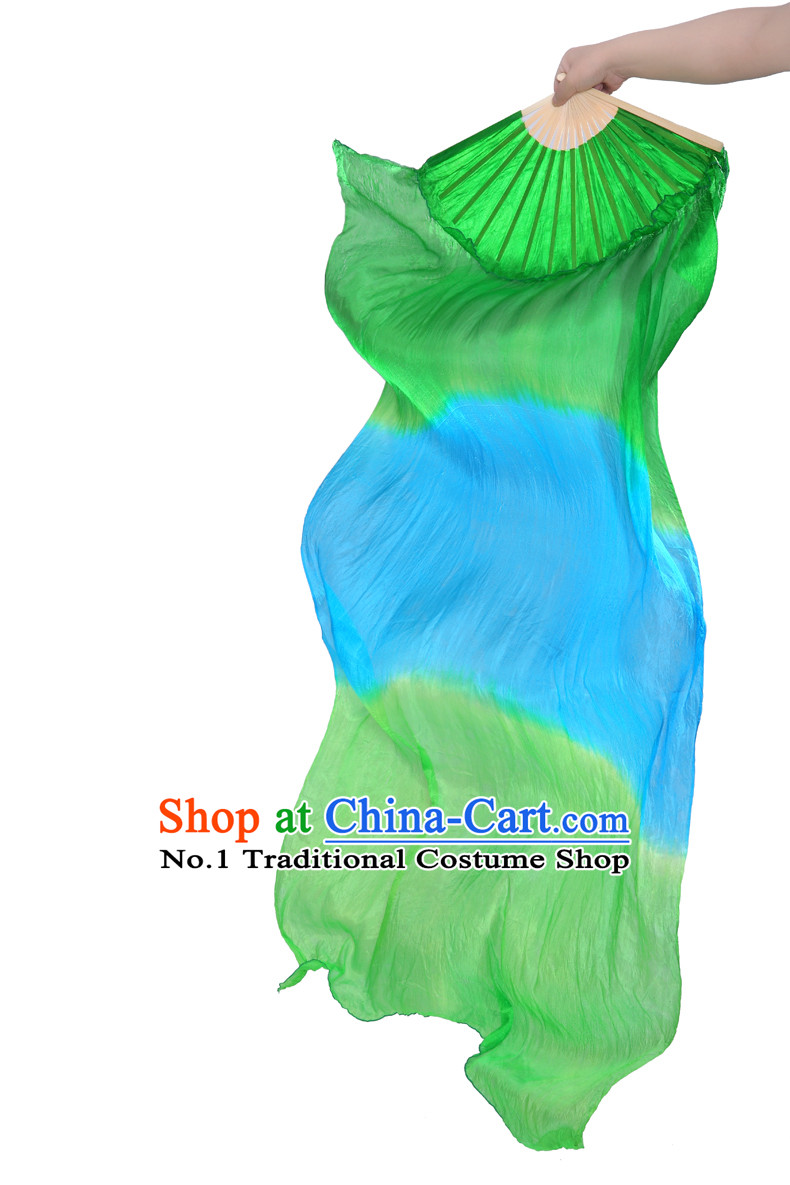 71 Inches Pure Silk Chinese Hand Fan