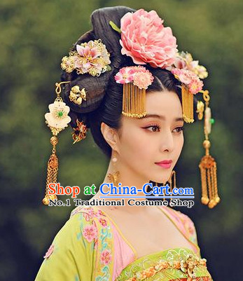 Tang Dynasty Female Emperor Hair Accessories Set
