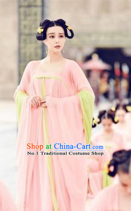 Tang Dynasty Palace Lady Clothing for Women