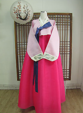 Asian Fashion Korean Hanbok Traditional Clothes for Women