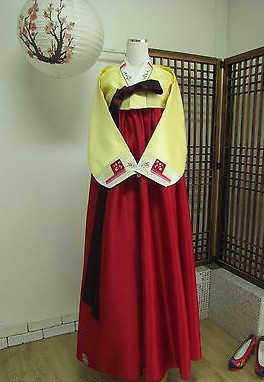 Asian Fashion Korean Hanbok Dresses for Women