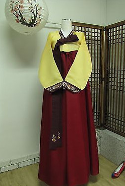 Asian Fashion Korean Hanbok for Women