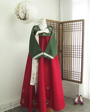 Asian Fashion Korean National Hanbok for Women