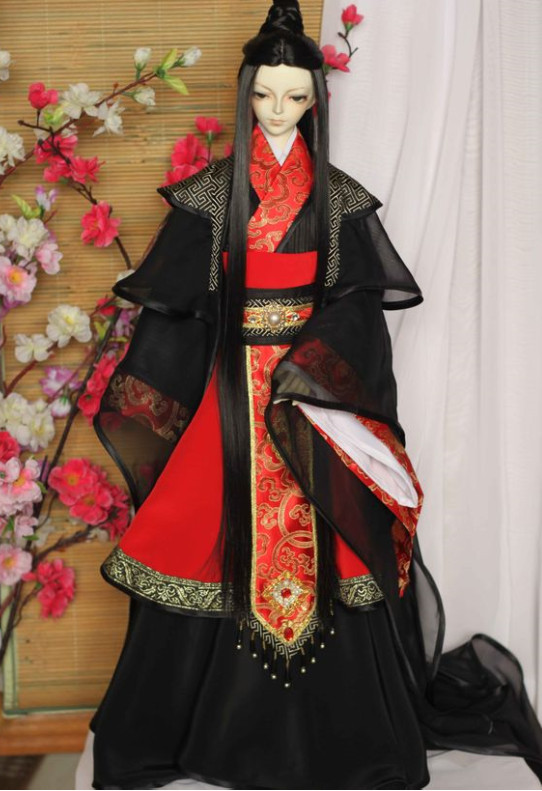 China Classical Prince Hanfu Robe for Men