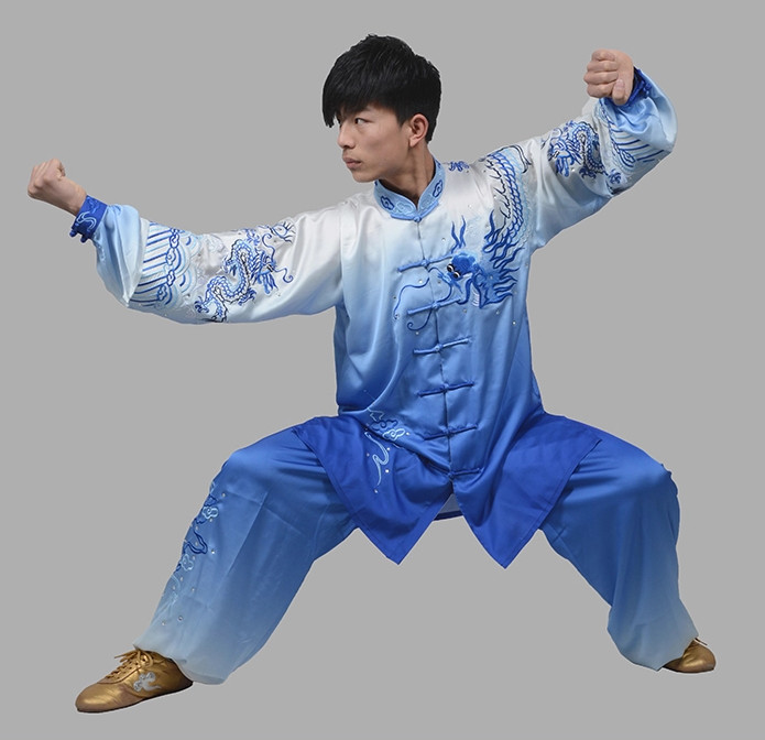 TOP Transition Kung Fu Martial Arts Uniforms Complete Set