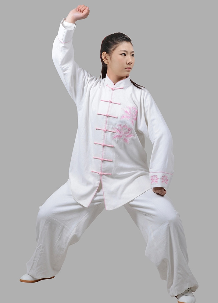 Supreme Kung Fu Uniform Hapkido Wooden Dummy Marshal Arts Complete Set