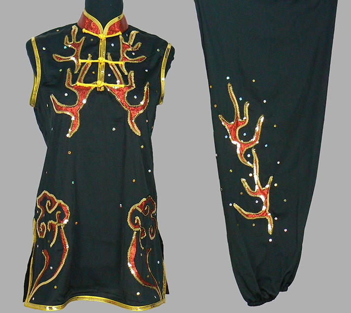 Top Nanquan Kung Fu Marshal Arts Uniforms Complete Set