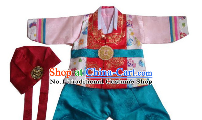 Traditional Korean Clothing Custom Made Kids Hanbok