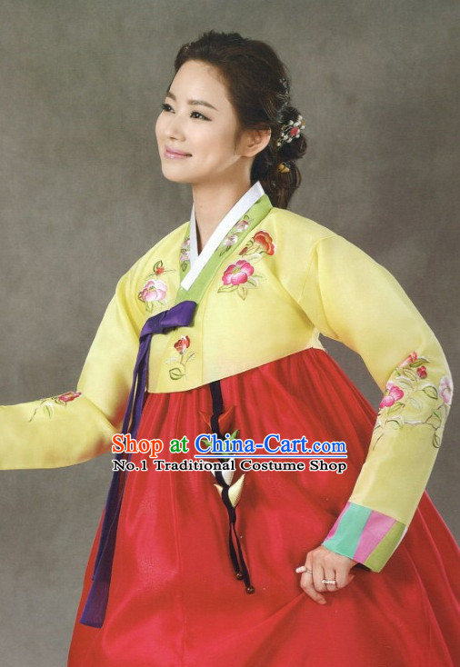 Korean Custom Made Hanbok Clothing for Women