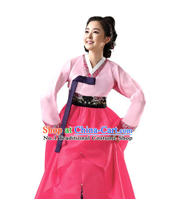 Korean Custom Made Hanbok Dresses for Women