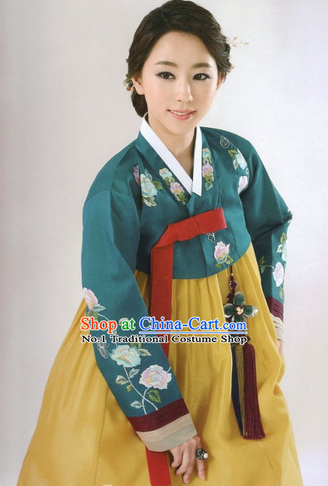 Korean Traditional Dress Custom Made Hanbok Outfit for Women