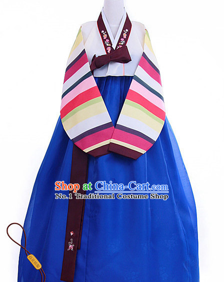 Top Korean Hanbok Dance Costumes Girls Dancewear