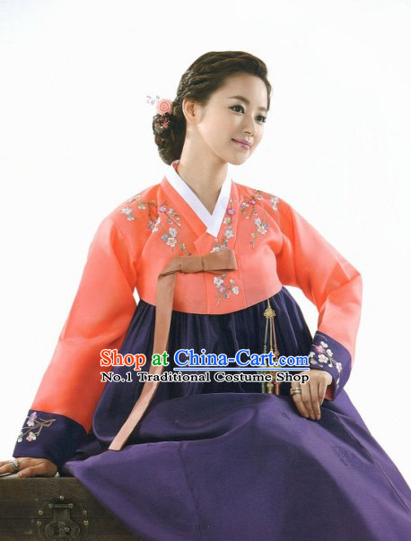 Korean Folk Dress online Traditional Costumes National Costume for Women