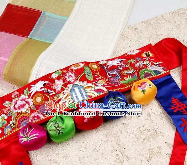 Korean Kids Birthday Ceremony Belt