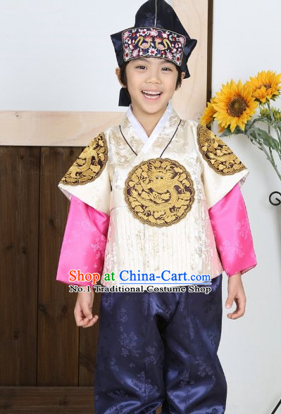 Top Traditional Korean Prince Kids Fashion Kids Apparel Birthday Clothes for Boys