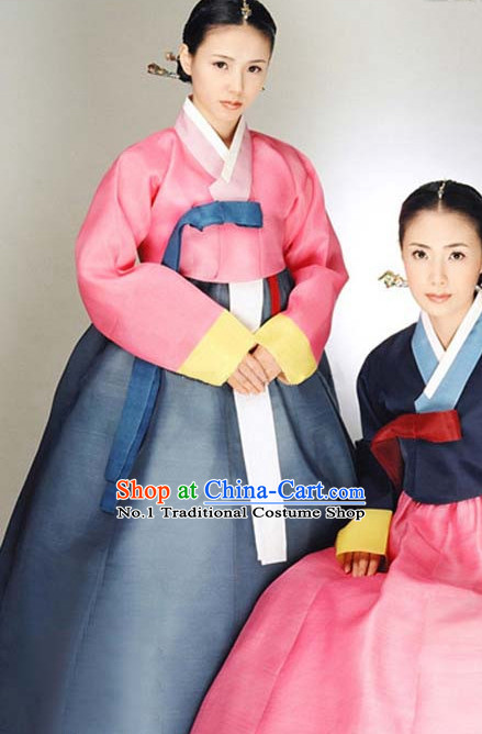 Top Korean Traditional Custom Made Hanbok Clothing Complete Set for Women