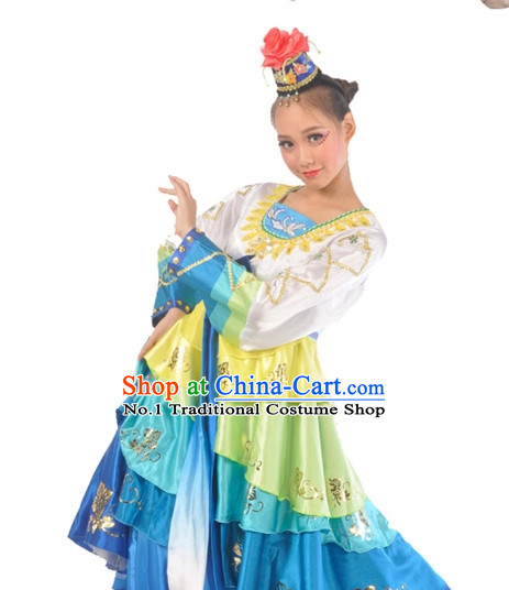 Korean Dance Costumes Complete Set for Women