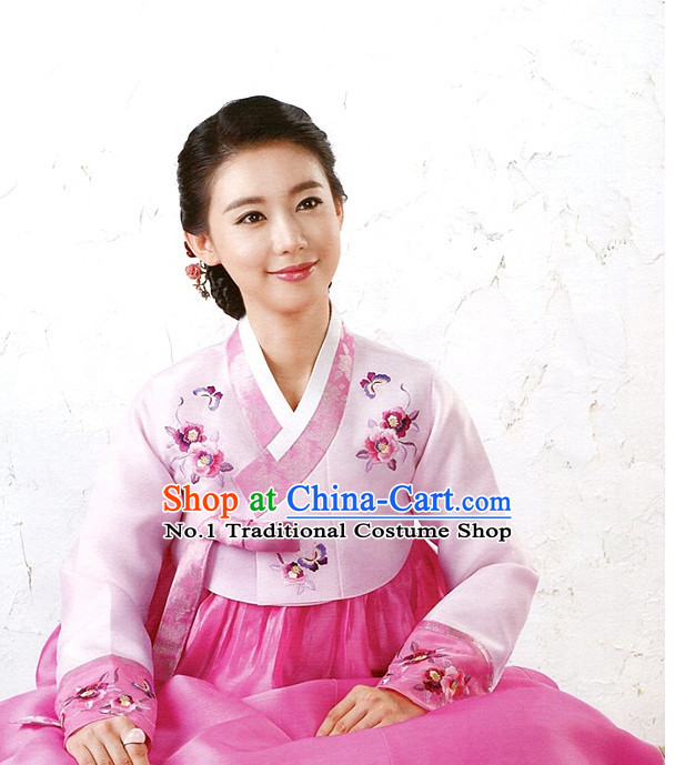 Folk Korean Formal Dresses for Women