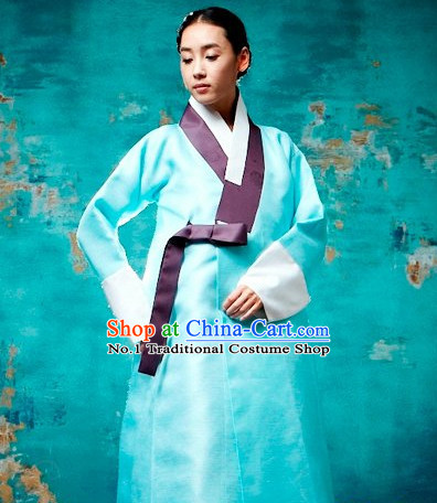 Korean Ancient Costumes Hanboks Complete Set