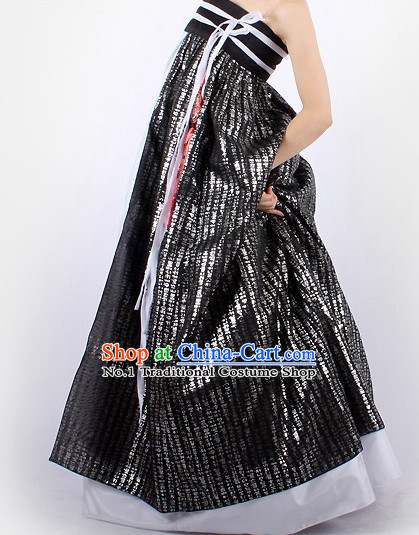 Korean Traditional Evening Dresses Evening Dress Long Evening Gowns Modernized Women Hanbok