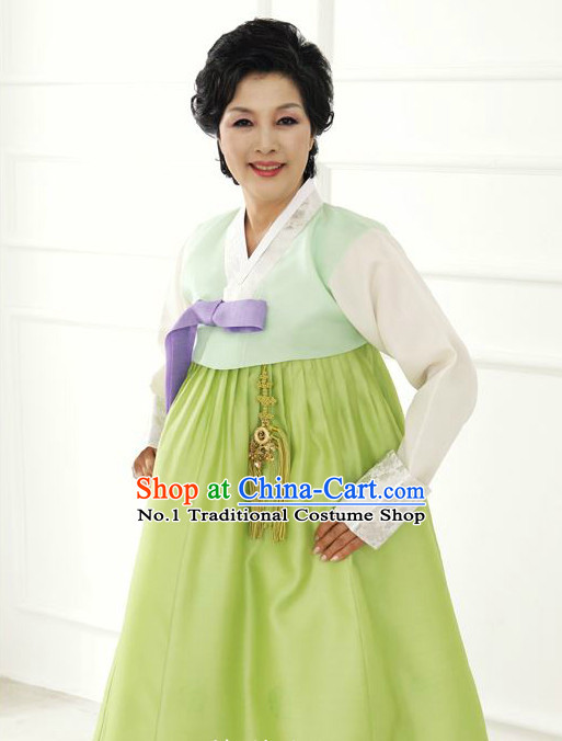 Korean Mother-in-law Hanbok online Fashion Store Apparel Tops Korean Women Fashion Complete Set