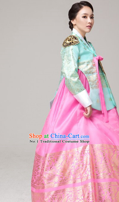 Korean Fashion Royal Princess Costumes Complete Set for Women