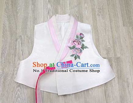 Korean Women Fashion Traditional Hanbok Jacket