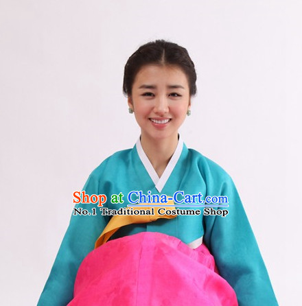 Top Korean Official Hanbok Dress Complete Set for Women