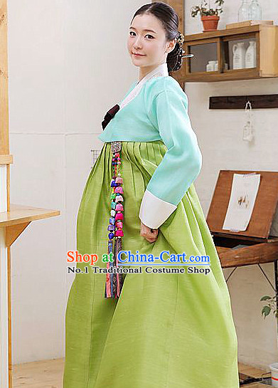 Top Korean Hanbok Clothing Complete Set
