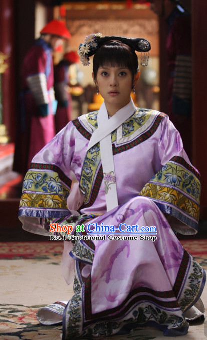 Qing Dynasty Chinese Costumes Asia fashion China Civilization Princess Clothes