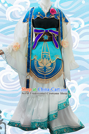 Asian Chinese Fashion Princess Halloween Costumes Cosplay Costumes Plus Size Custom Made