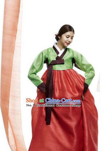 Korean Traditional Dress Hanbok Formal Dresses Special Occasion Dresses for Girls