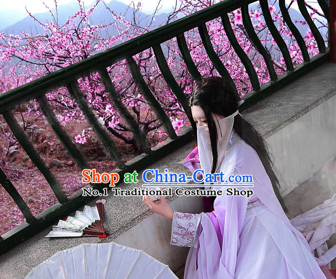 Asia Fashion Ancient China Culture Chinese Classical Dance Costumes