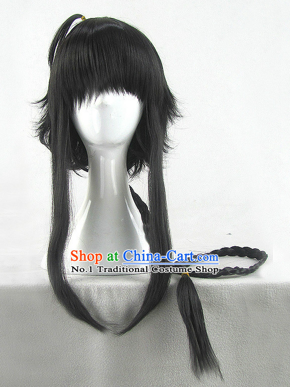 Asian Chinese Cosplay Traditional Wigs Chinese Ancient Costume Wig