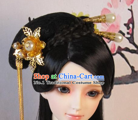 Traditional Chinese Princess Hair Extensions Hairpins