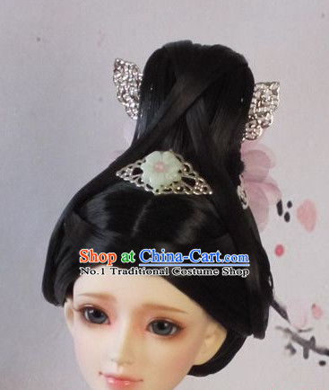 Traditional Chinese Princess Wigs and Hairpieces