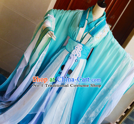 Chinese Ancient Beauty Hanfu Clothes Complete Set