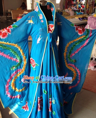 Chinese Long Tail Opera Stage Performance Empress Suit Complete Set China Shopping online