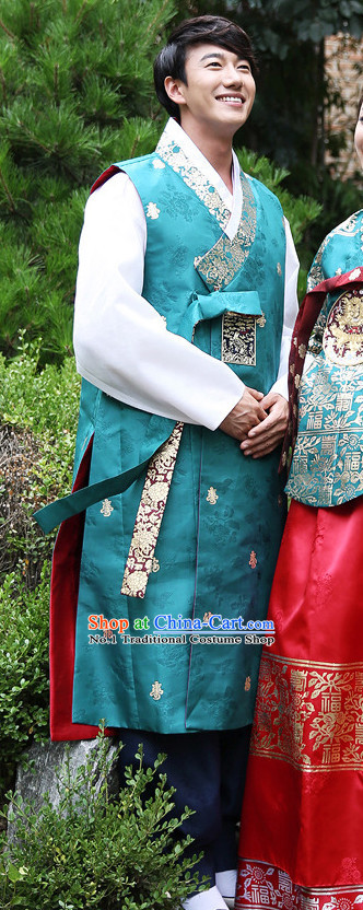 Korean Male National Costumes Traditional Costumes online Shopping