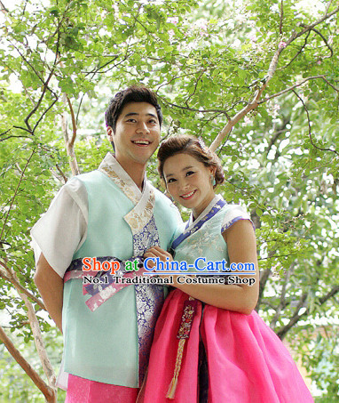 Korean Husband and Wife National Costumes Traditional Costumes online Shopping
