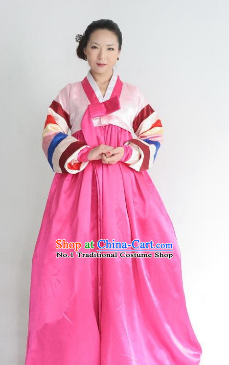 Korean Classical National Costumes for Women