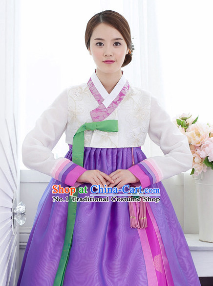 Traditional Korean Fashion Style Female Dresses Complete Sets