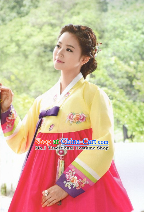 Korean Hanbok Women Clothing Ladies Fashion Clothes Korean Traditional Dresses
