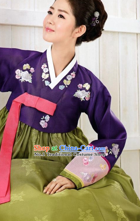 Korean Traditional Clothes Hanbok Dress Shopping