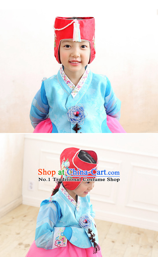 Korean Fashion Website Traditional Clothes Hanbok online Dress Shopping for Children