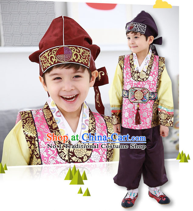 Korean Fashion Website Traditional Clothes Hanbok online Dress Shopping for Boys