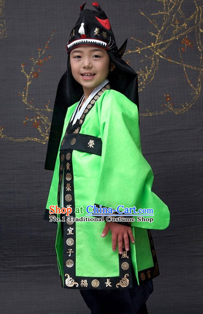 Korean Boys National Costumes Traditional Hanbok Clothes online Shopping