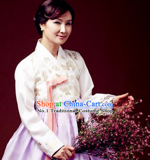 Korean Mother National Costumes Traditional Hanbok Clothes online Shopping