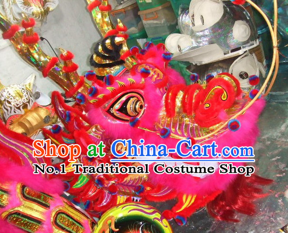 Handmade Lotus Ancient Style Dragon Costumes Complete Set for Adults