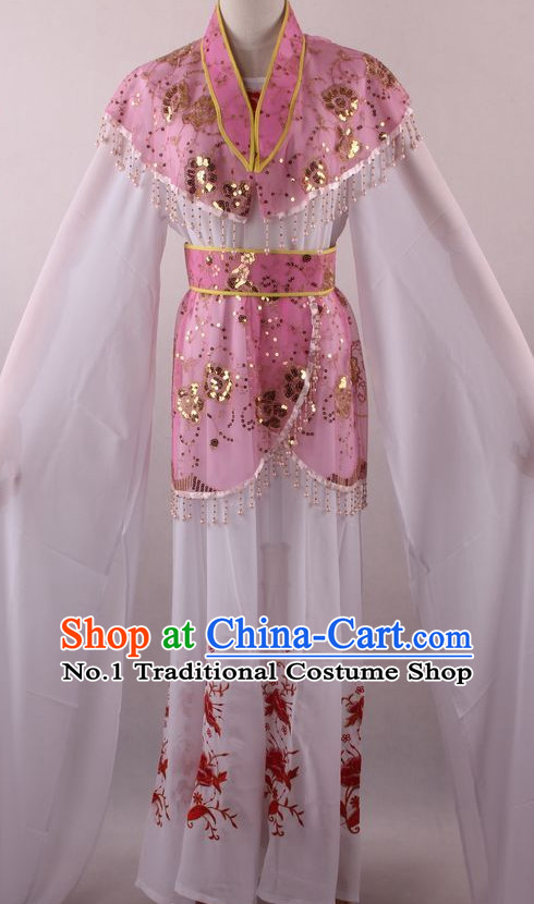 Chinese Culture Chinese Opera Costumes Chinese Cantonese Opera Beijing Opera Costumes Female Water Sleeve Costumes